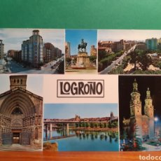 Postales: ANTIGUA POSTAL DE LOGROÑO. Lote 244868645