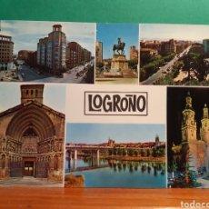 Postales: ANTIGUA POSTAL DE LOGROÑO VER FOTOS. Lote 244869630