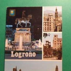 Postales: ANTIGUA POSTAL DE LOGROÑO. Lote 244870110