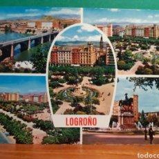 Postales: ANTIGUA POSTAL DE LOGROÑO. Lote 244871150