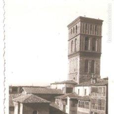 Postales: LOGROÑO (LA RIOJA) TORRE DE LA IGLESIA DE SANTIAGO.. Lote 247138965