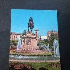 Postales: POSTAL DE LOGROÑO - MONUMENTO GENERAL ESPARTEROS - LA DE LA FOTO VER TODAS MIS POSTALES. Lote 252747430