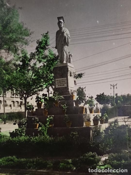 CALAHORRA LA RIOJA PASEO MERCADO MATIONA ED SICILIA 17 ESCRITA COLOREADA (Postales - España - La Rioja Moderna (desde 1.940))