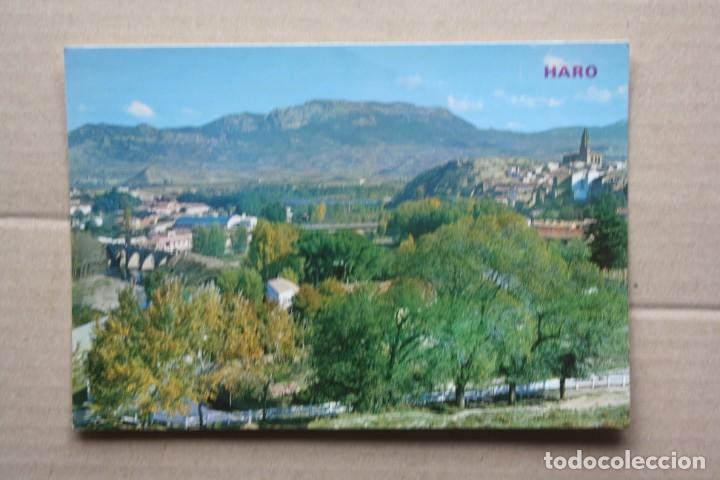 POSTAL HARO Nº 228 - VISTA PARCIAL Y HUERTA. (Postales - España - La Rioja Moderna (desde 1.940))