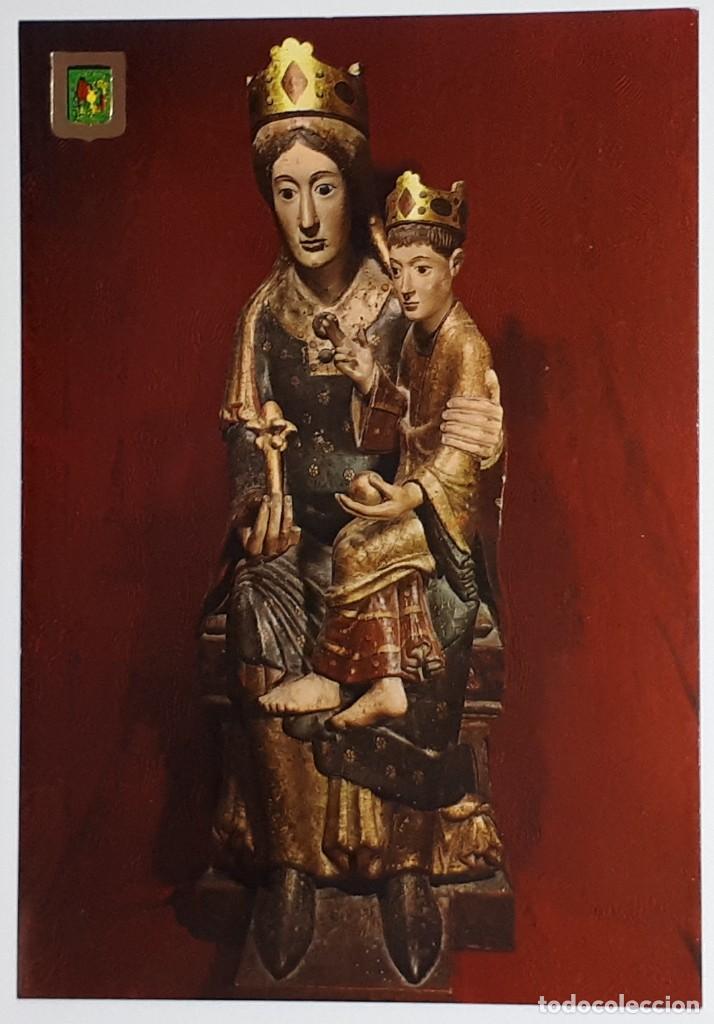 NAJERA.- Nº 12, SANTA MARÍA LA REAL. IMAGEN DE SANTA. ESCUDO DE ORO. LOGROÑO- SIN CIRCULAR (Postales - España - La Rioja Moderna (desde 1.940))