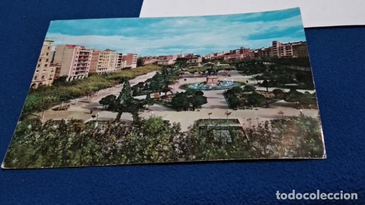 Postales: POSTAL DE LOGROÑO. VISTA PARCIAL DEL ESPOLON MODERNO. Nº 127. EDICIONES PARIS J.M. ZARAGOZA - Foto 2 - 268473124
