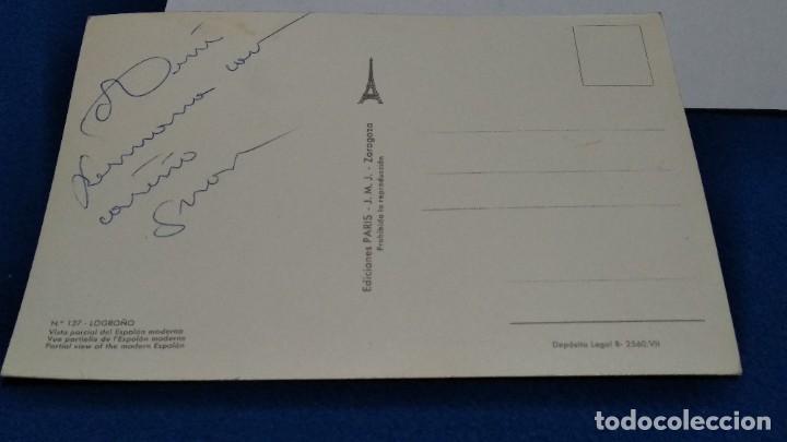 Postales: POSTAL DE LOGROÑO. VISTA PARCIAL DEL ESPOLON MODERNO. Nº 127. EDICIONES PARIS J.M. ZARAGOZA - Foto 4 - 268473124