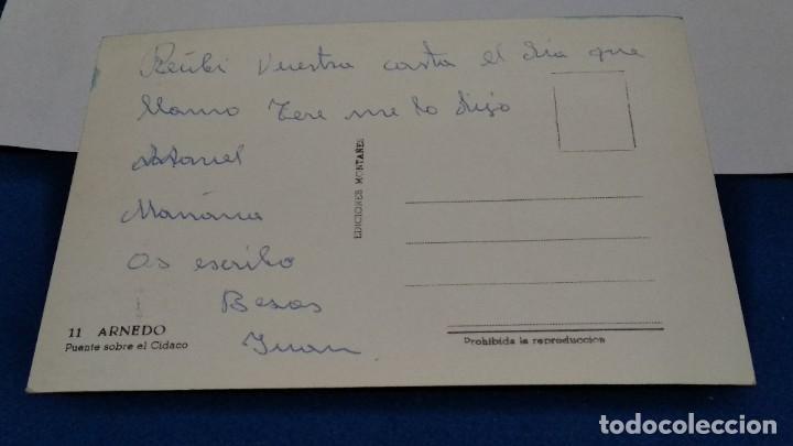 Postales: POSTAL Nº 11 EDICIONES MONTAÑES ( ARNEDO - PUENTE SOBRE EL RÍO CIDACO ) - Foto 3 - 268473234