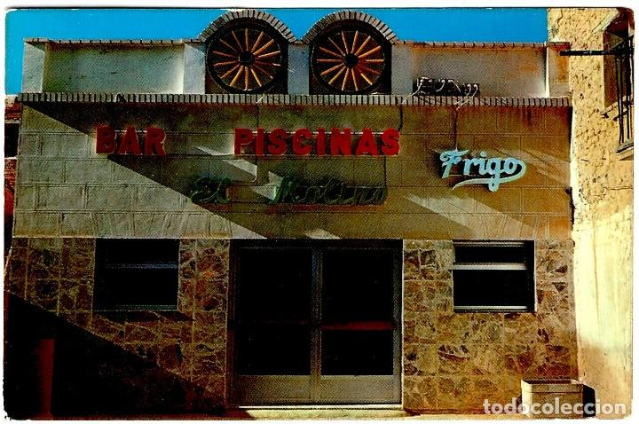 SAN ASENSIO (LOGROÑO) - PISCINAS BAR EL MOLINO - T. POSTAL 150X105MM INÉDITA EN TODOCOLECCIÓN (Postales - España - La Rioja Moderna (desde 1.940))