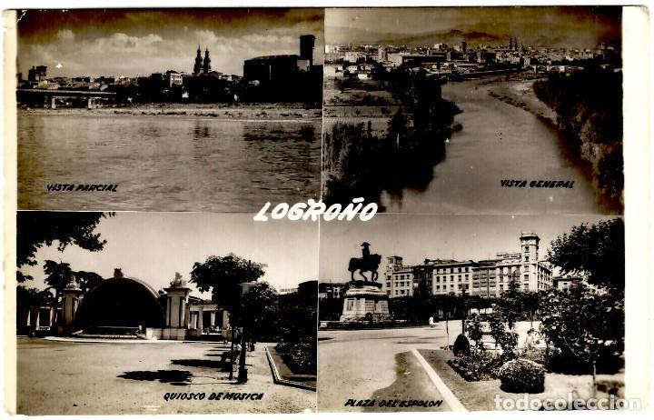 LOGROÑO - MULTI-VISTAS - ED. SICILIA - 153X102 MM (Postales - España - La Rioja Moderna (desde 1.940))