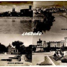 Postales: LOGROÑO - MULTI-VISTAS - ED. SICILIA - 153X102 MM. Lote 268731614