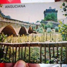 Postales: POSTAL ANGUCIANA CASTILLO Y PUENTE ROMANICO EDITA AUTOSERVICIO MENDOZA 1977 ESCRITA. Lote 268939609