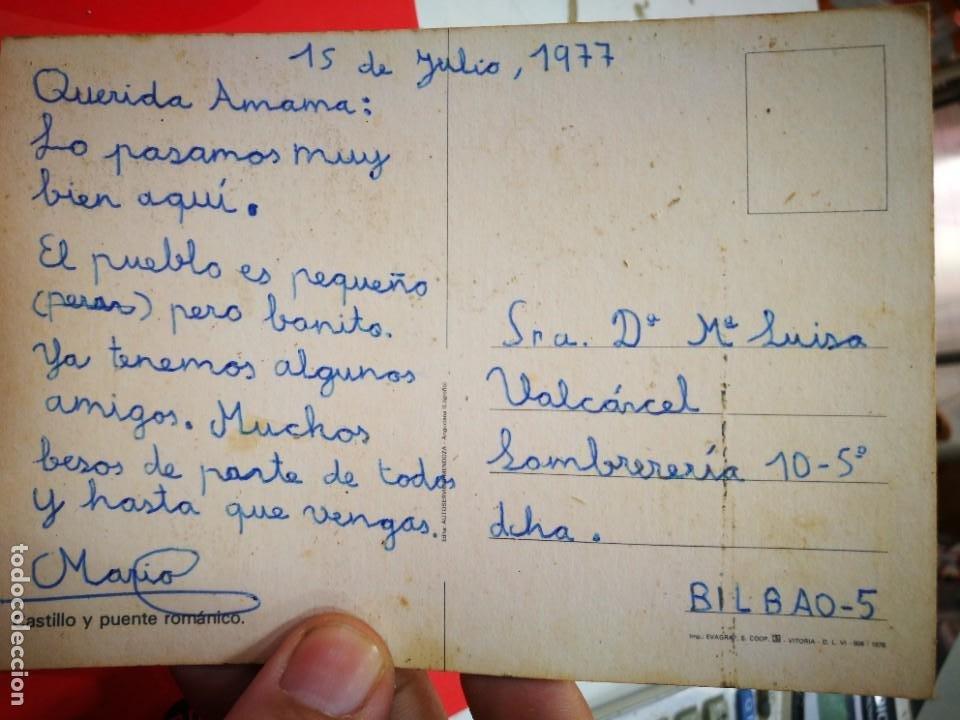Postales: Postal ANGUCIANA Castillo y Puente Romanico Edita AUTOSERVICIO MENDOZA 1977 escrita - Foto 2 - 268939609