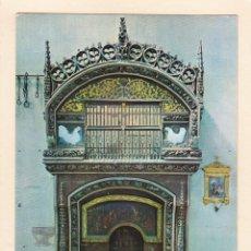 Postales: SANTO DOMINGO DE LA CALZADA (LA RIOJA). DETALLE DE LA CATEDRAL (1967). Lote 269752813