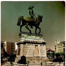Postales: LOGROÑO - PLAZA DE ESPAÑA. MONUMENTO AL GRAL. ESPARTERO - ED. SICILIA Nº 6 - 149X97 MM. - INÉDITA EN. Lote 270159473