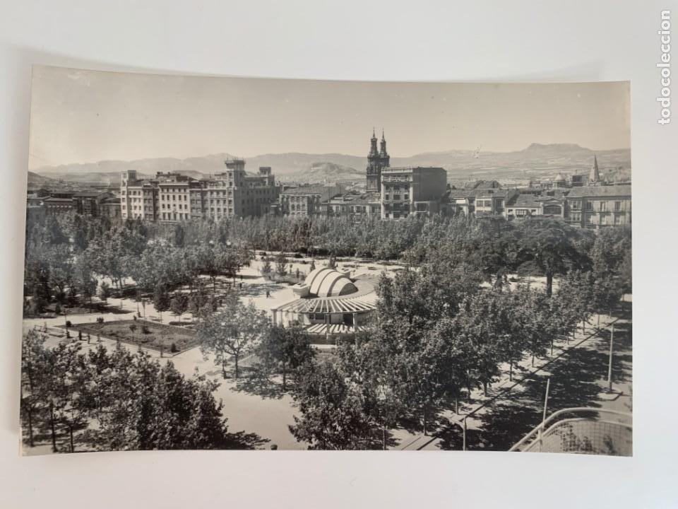 LOGROÑO - PLAZA DEL ESPOLÓN Y KIOSCO - Nº 13 ED. SICILIA (Postales - España - La Rioja Moderna (desde 1.940))