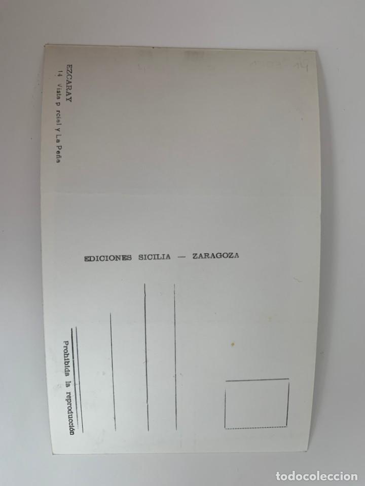 Postales: EZCARAY - VISTA PARCIAL Y LA PEÑA - Nº 14 ED. SICILIA - Foto 2 - 270678713