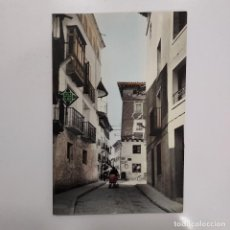 Postales: POSTAL ALFARO LA RIOJA CUATRO ESQUINAS 10X15 CM ESCRITA SIN CIRCULAR RARA COLOREADA LOGROÑO ANIMADA. Lote 274888008