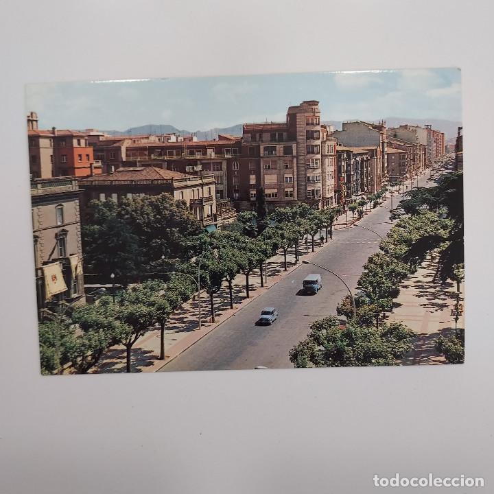 POSTAL LOGROÑO AVENIDA DEL GENERAL VARA DE REY (LA RIOJA) ESCRITA SIN CIRCULAR RARA (Postales - España - La Rioja Moderna (desde 1.940))