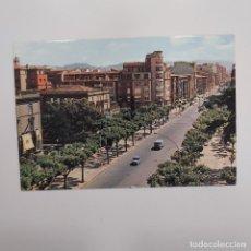 Postales: POSTAL LOGROÑO AVENIDA DEL GENERAL VARA DE REY (LA RIOJA) ESCRITA SIN CIRCULAR RARA. Lote 276056568