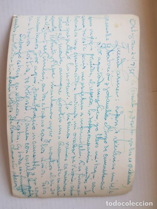 Postales: ORTIGOSA DE CAMEROS LA RIOJA LOGROÑO VIRGEN Y VISTA PARCIAL 1958 - Foto 2 - 276256328