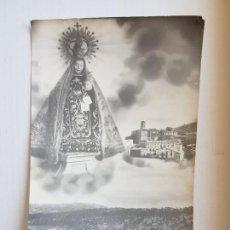 Postales: ORTIGOSA DE CAMEROS LA RIOJA LOGROÑO VIRGEN Y VISTA PARCIAL 1958. Lote 276256328