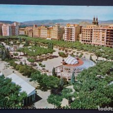 Postales: LOGROÑO, PLAZA DEL ESPOLÓN, ANTIGUA POSTAL SIN CIRCULAR. Lote 276475758