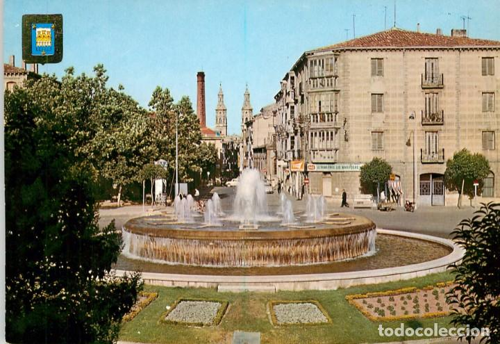 EM1084 LOGROÑO PLAZA MURRIETA 1968 FISA Nº22 (Postales - España - La Rioja Moderna (desde 1.940))
