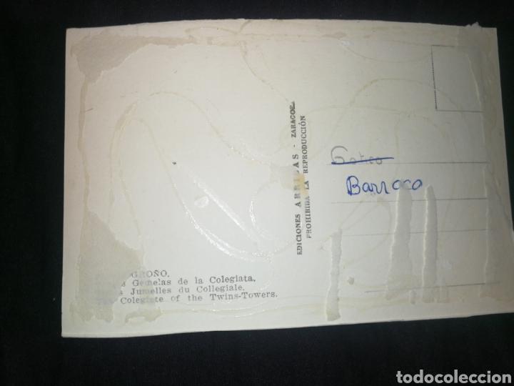 Postales: LOGROÑO, COLEGIATA, AÑOS 60. - Foto 2 - 277530208