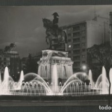 Postales: POSTAL CIRCULADA LOGROÑO 34 PLAZA DEL ESPOLON MONUMENTO AL GENERAL ESPARTERO EDITA SICILIA. Lote 277545083