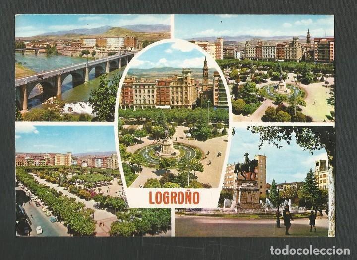 POSTAL SIN CIRCULAR LOGROÑO 309 EDITA PARIS (Postales - España - La Rioja Moderna (desde 1.940))