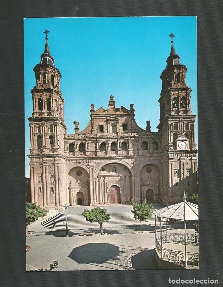 POSTAL SIN CIRCULAR ALFARO 1 (LOGROÑO) IGLESIA DE SAN MIGUEL EDITA VISTA CROM (Postales - España - La Rioja Moderna (desde 1.940))