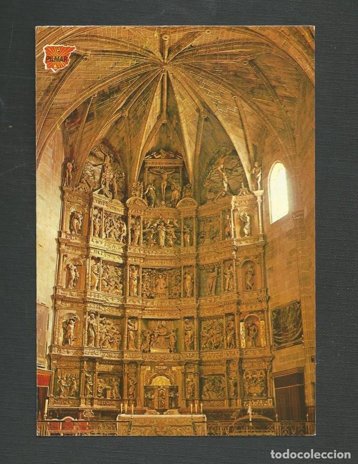 POSTAL SIN CIRCULAR SAN VICENTE DE LA SONSIERRA 1 (LOGROÑO) PARROQUIA SANTA MARIA EDITA PILMAR (Postales - España - La Rioja Moderna (desde 1.940))