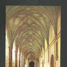 Postales: POSTAL SIN CIRCULAR SAN MILLAN DE LA COGOLLA 11 (LOGROÑO) MONASTERIO CLAUSTRO EDITA HELIOTIPIA ARTIS. Lote 277549038