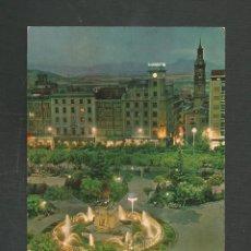 Postales: POSTAL SIN CIRCULAR LOGROÑO 192 FUENTE LUMINOSA DEL ESPOLON EDITA PARIS. Lote 277549363