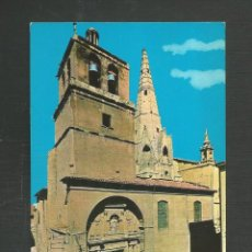 Postales: POSTAL SIN CIRCULAR LOGROÑO 7414 IGLESIA DE SANTA MARIA DE PALACIO EDITA BEASCOA. Lote 277549473