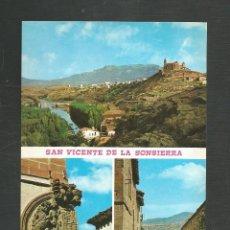 Cartes Postales: POSTAL SIN CIRCULAR SAN VICENTE DE LA SONSIERRA 1 (LOGROÑO) EDITA GARCIA GARRABELLA. Lote 277549513