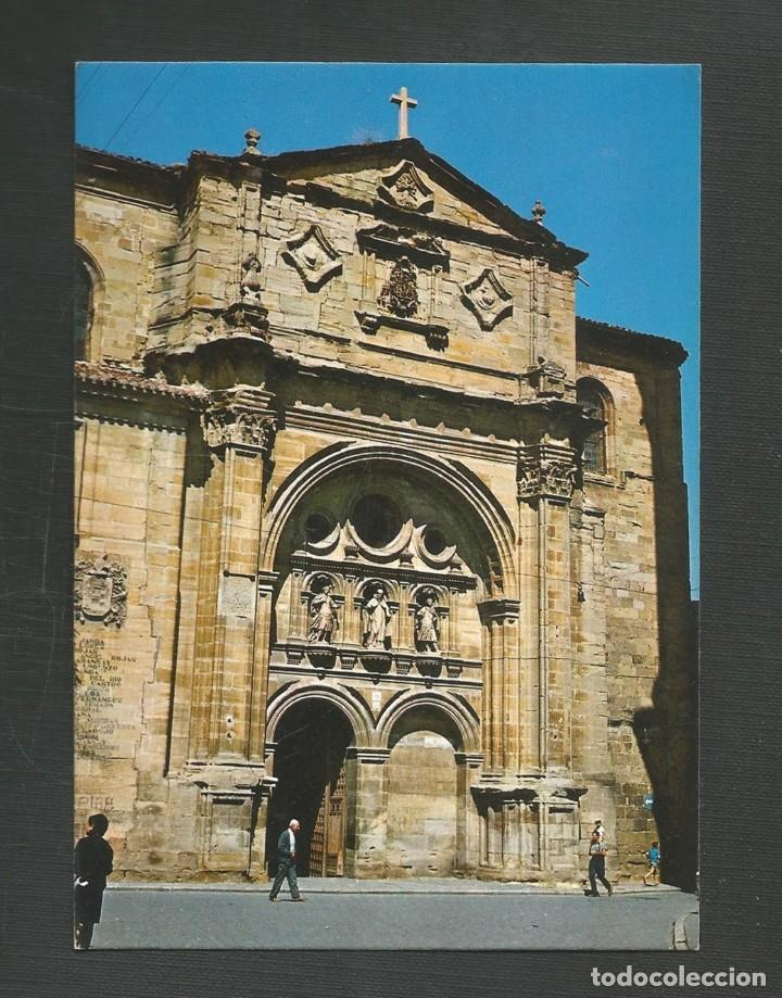 POSTAL SIN CIRCULAR SANTO DOMINGO DE LA CALZADA 5 (LOGROÑO) PLAZA DEL SANTO EDITA INTER (Postales - España - La Rioja Moderna (desde 1.940))