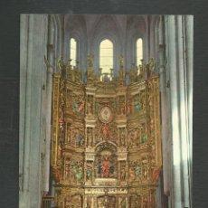 Postales: POSTAL SIN CIRCULAR SANTO DOMINGO DE LA CALZADA 3 (LOGROÑO) RETABLO DE LA CATEDRAL EDITA INTER. Lote 277551978