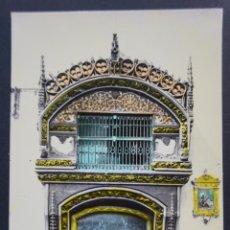Postales: SANTO DOMINGO DE LA CALZADA, HORNACINA DEL GALLO Y LA GALLINA, ALTAR MAYOR, POSTAL SIN CIRCULAR. Lote 278495793