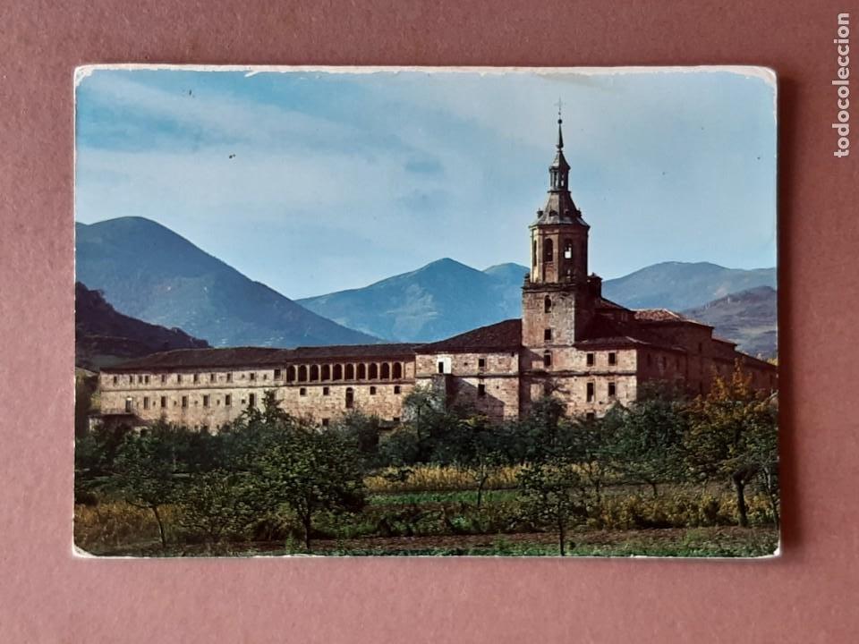 POSTAL 1 SKORPIO. MONASTERIO. SAN MILLÁN DE LA COGOLLA. LA RIOJA. 1972. NO CIRCULADA. (Postales - España - La Rioja Moderna (desde 1.940))