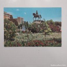 Postales: POSTAL LOGROÑO. PLAZA DEL ESPOLÓN. MONUMENTO GENERAL ESPARTERO (LA RIOJA) SIN ESCRIBIR. Nº 2 SICILIA. Lote 279569473