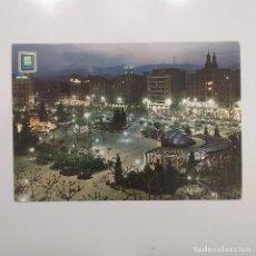 Postales: POSTAL LOGROÑO. PASEO DEL ESPOLÓN (LA RIOJA) CIRCULADA 1966. Nº 4 DOMINGUEZ. Lote 279573348