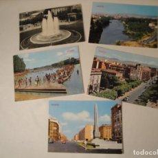 Postales: 5 POSTALES DE LOGROÑO. DE LOS AÑOS 60. NUEVAS.. Lote 286520668
