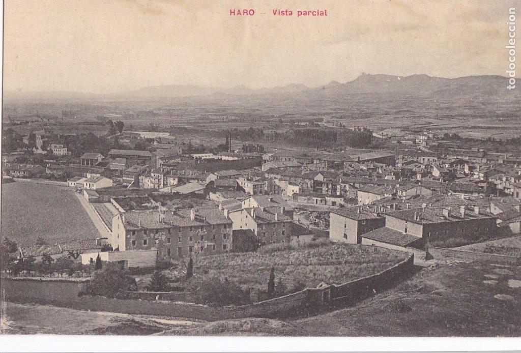 HARO, VISTA PARCIAL. NO CONSTA EDITOR. SIN CIRCULAR (Postales - España - La Rioja Moderna (desde 1.940))