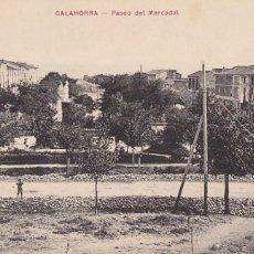 Postales: CALAHORRA, PASEO DEL MERCADAL. NO CONSTA EDITOR. SIN CIRCULAR. Lote 286708968