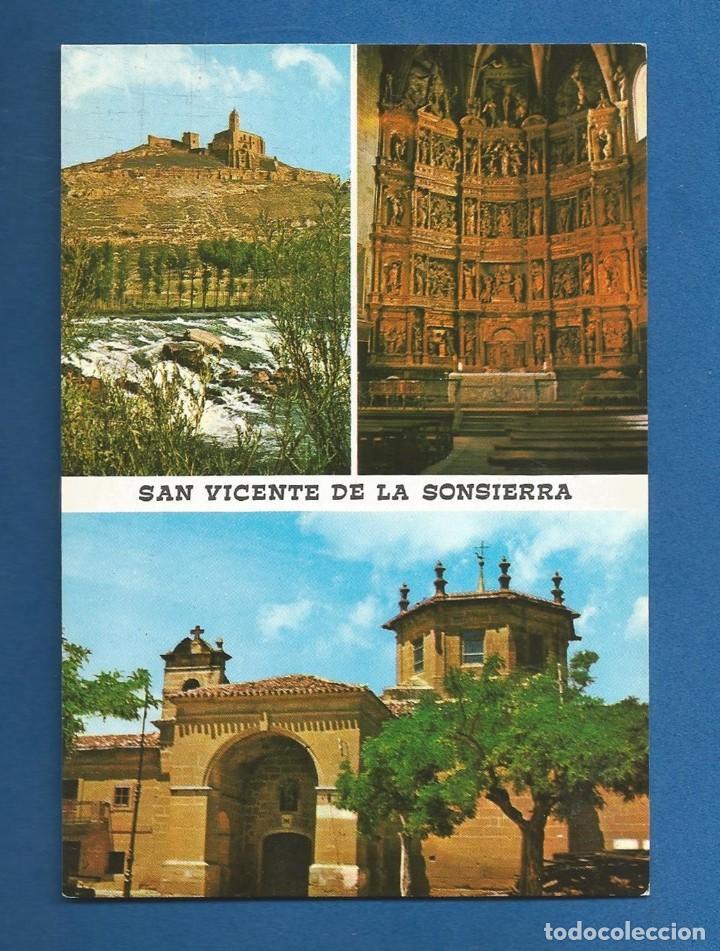 POSTAL SIN CIRCULAR SAN VICENTE DE LA SONSIERRA 3 LOGROÑO EDITA GARCIA GARRABELLA (Postales - España - La Rioja Moderna (desde 1.940))