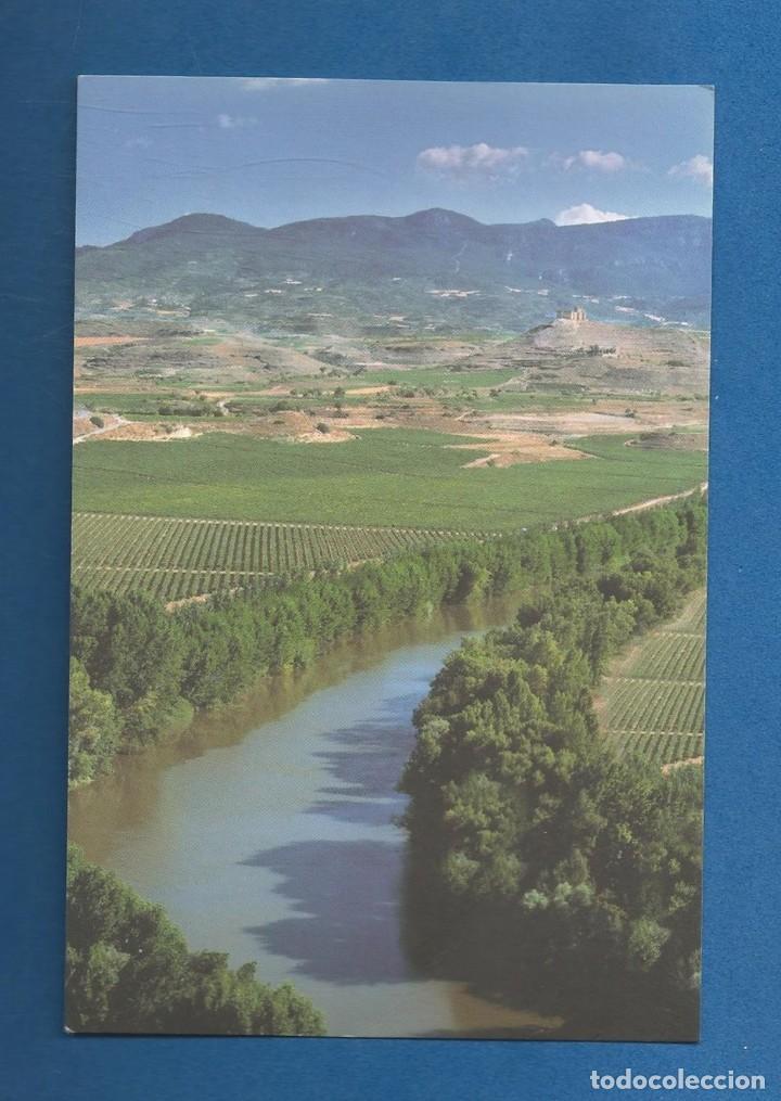 POSTAL SIN CIRCULAR MEANDRO DEL RIO EBRO SAN ASENSIO (LA RIOJA) EDITA TURISMO (Postales - España - La Rioja Moderna (desde 1.940))