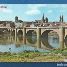 Postales: POSTAL SIN CIRCULAR LOGROÑO 493 PUENTE DE PIEDRA EDITA PARIS. Lote 287642473