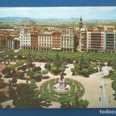Postales: POSTAL SIN CIRCULAR LOGROÑO 2017 PASEO DEL ESPOLON PARCIAL EDITA ARRIBAS. Lote 287642783